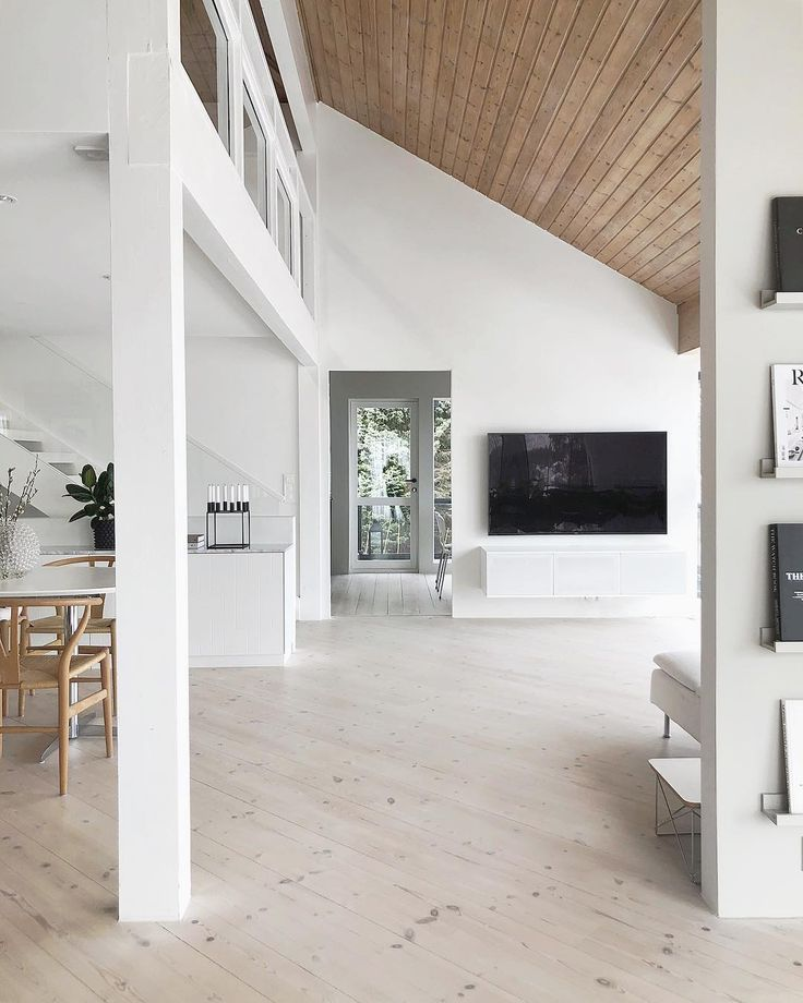Wohnzimmer stylizimo skandinavisch modern minimalistisch schlicht monochrom fernseher tv besta sideboard stauraum einrichten wohnen dekorieren schwarz