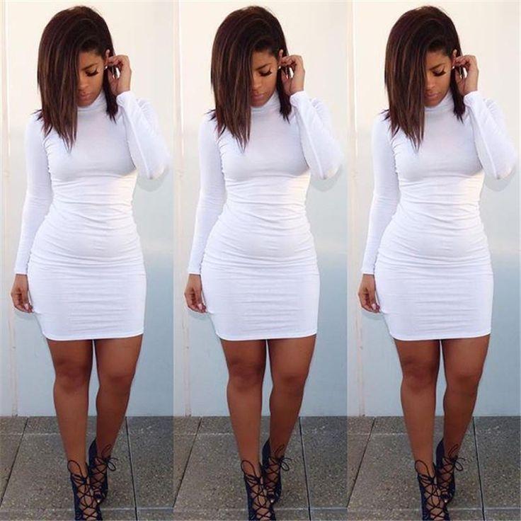 Best 20+ White bodycon dresses ideas on Pinterest | White bodies ...