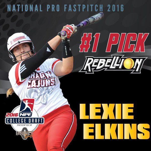 Lexie Elkins ('17) is the Sun Belt career leader in batting average and slugging percentage. She played for the Pennsylvania Rebellion and the Chicago Bandits before retiring in the spring of 2017.