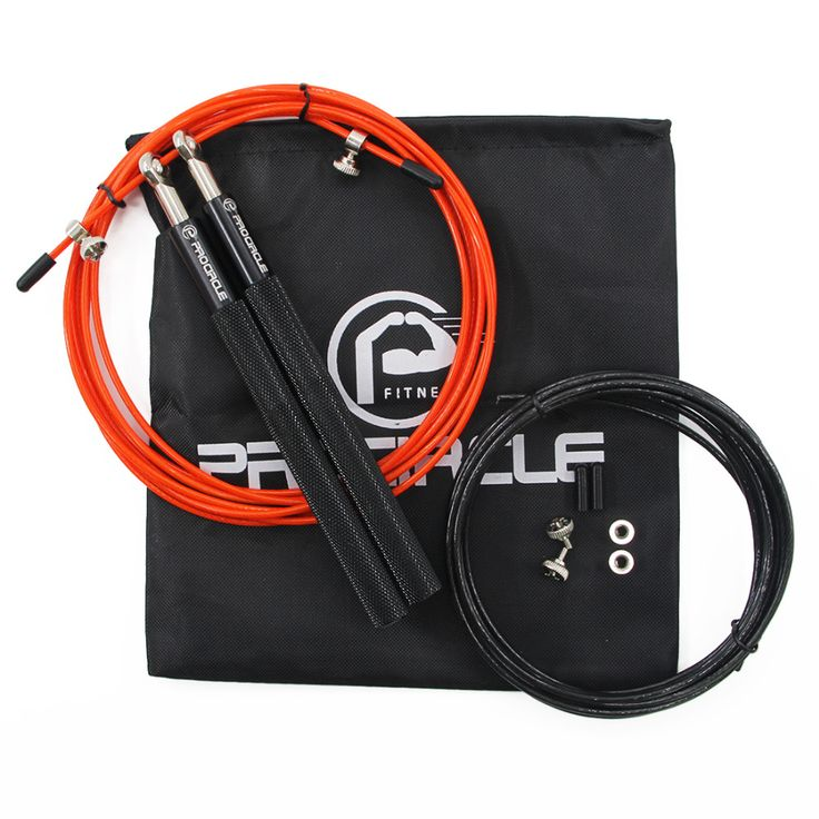 Procircle Crossfit Jump Rope Adjustable Jumping Rope Training Aluminum Skipping Rope Fitness Speed Skip Training, Boxing, MMA