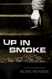 Up in Smoke: A Dr. Zol Szabo Medical Mystery, by Ross Pennie (ECW Press) http://www.ecwpress.com/books/smoke