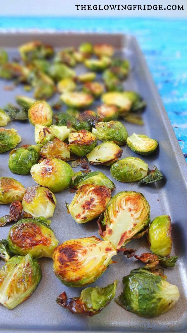 Oven-Roasted Brussels Sprouts – Clean recipe, Super Crispy and Naturally Delicio…   – Snacks