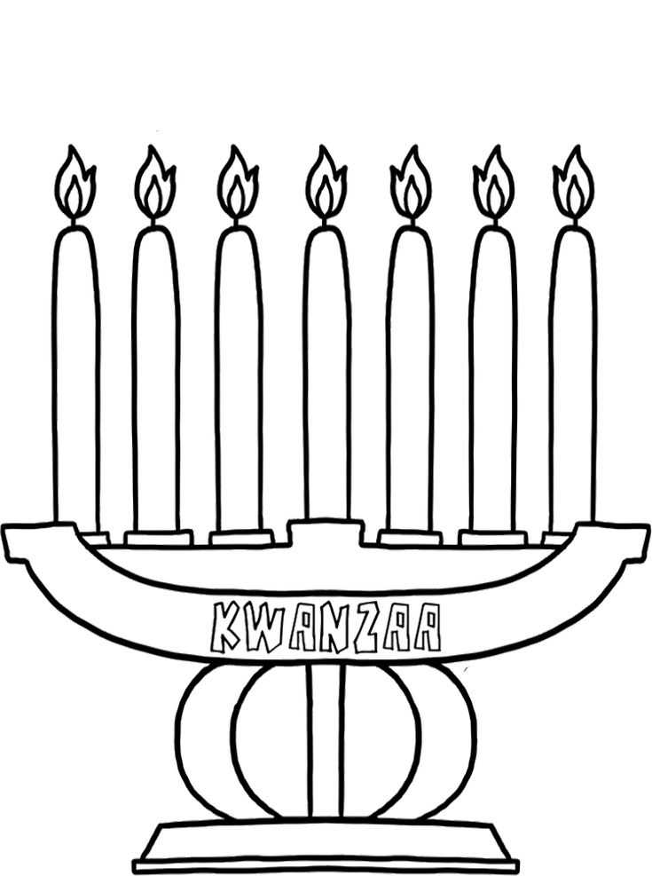 coloring pages kwanzaa - photo#29