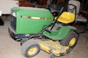 John Deere 180 Lawn Mower found on MaxSold Maxville downsizing sale.