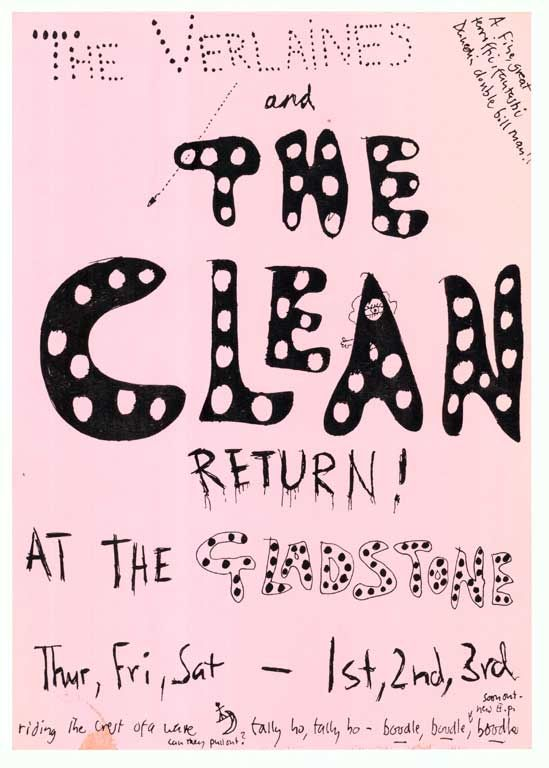 Verlaines and The Clean