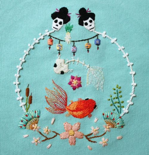 Embroidery by İrem Yazıcı (Baobap Handmade) cool #embroidery #bordado #broderie