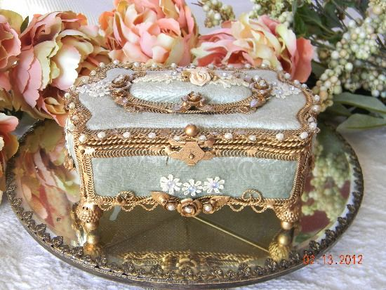 26 best French Jewelry Boxes images on Pinterest Jewel box