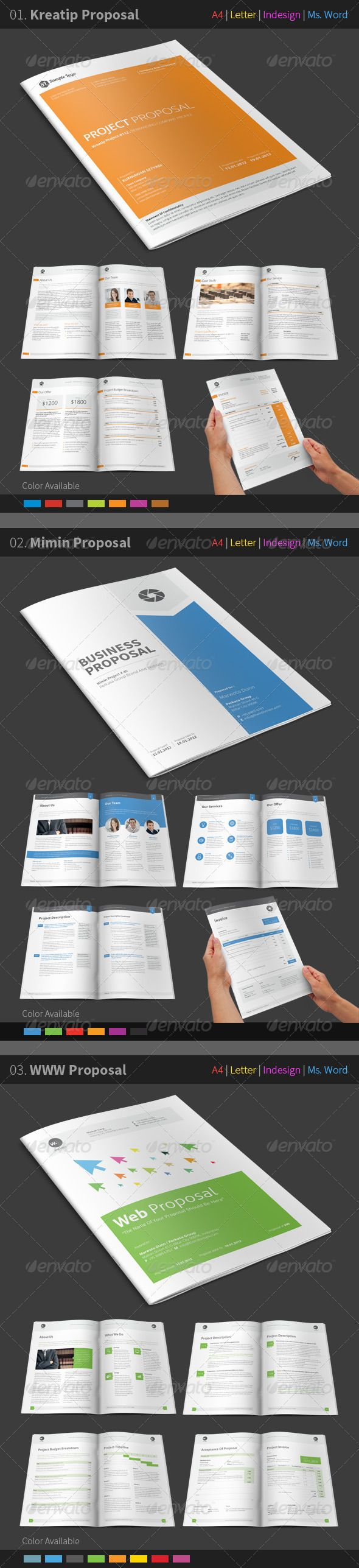 how to create a proposal template in word%0A Proposal Bundle
