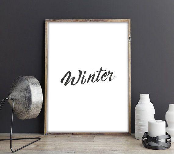 Impostare minimalista inverno poster | 3 poster minimalista | Inverno scandinavo poster stampabile | Arte della parete moderna di Natale
