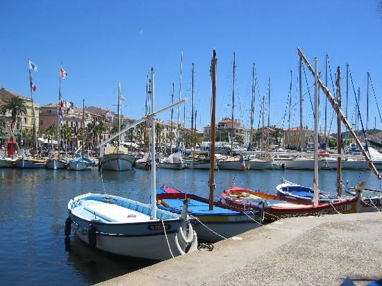 Sanary-sur-Mer, France: View of the Harbour --- Visited June 2, 2012