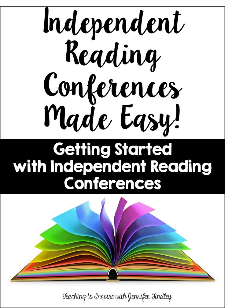 Independent Reading Conferences {A Guide to Getting Started} - Teaching to Inspire with Jennifer Findley