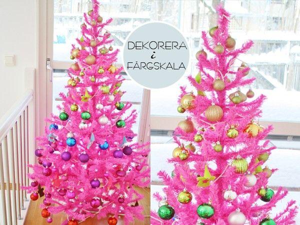 pink christmastree