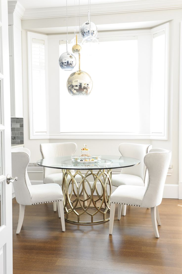 Best 25 Glass kitchen tables ideas on Pinterest  Diy table legs Dream kitchens and Ikea