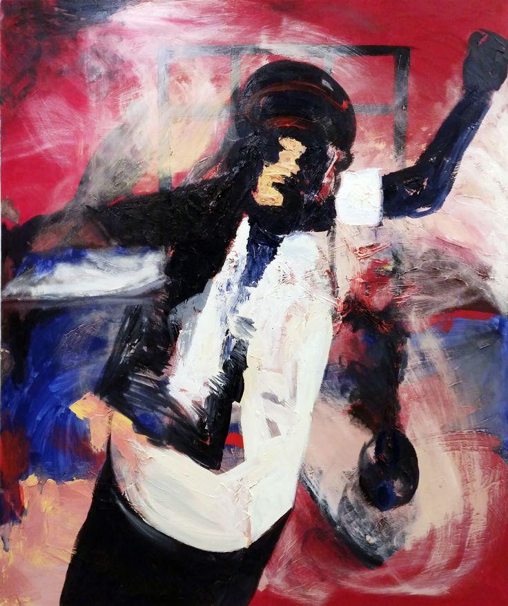 Onur Çetin, Beden I / Body I, 2012, tuval üzerine yağlıboya / oil on canvas, 100x120cm