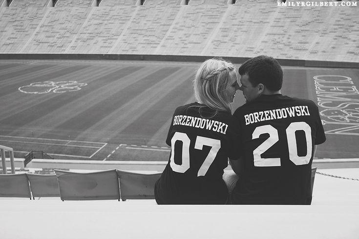 preview: steph & gene {clemson football stadium engagement} » e. gilbert photography