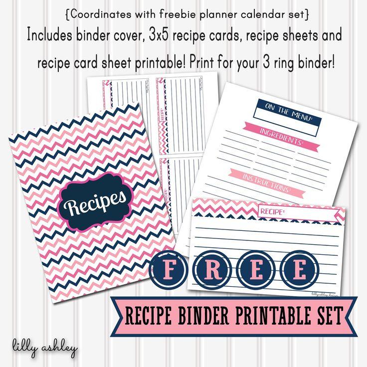 free recipe templates for binders - free recipe binder printables templates printables