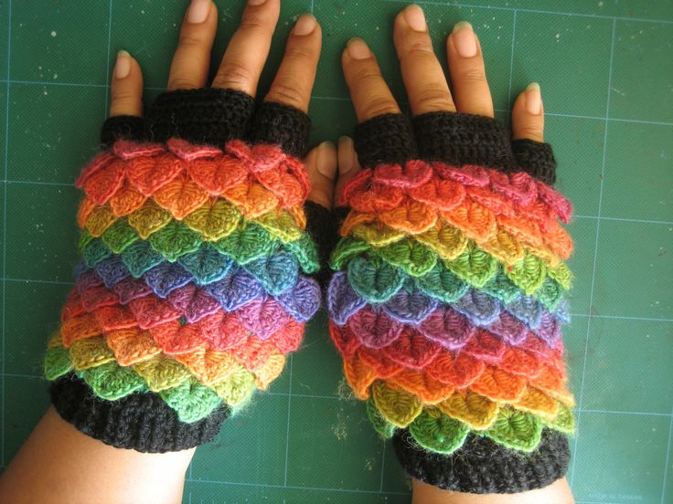 I worked pretty hard to figure out how to make these gloves. Please do not claim the design as your own. Feel free to link back to this tutorial. Make the gloves for personal use as gifts, but don't...