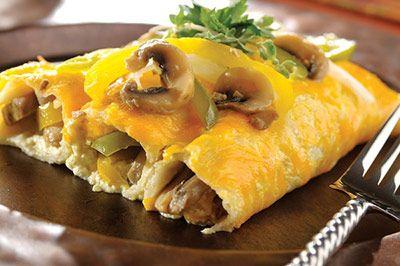 Burritos horneados
