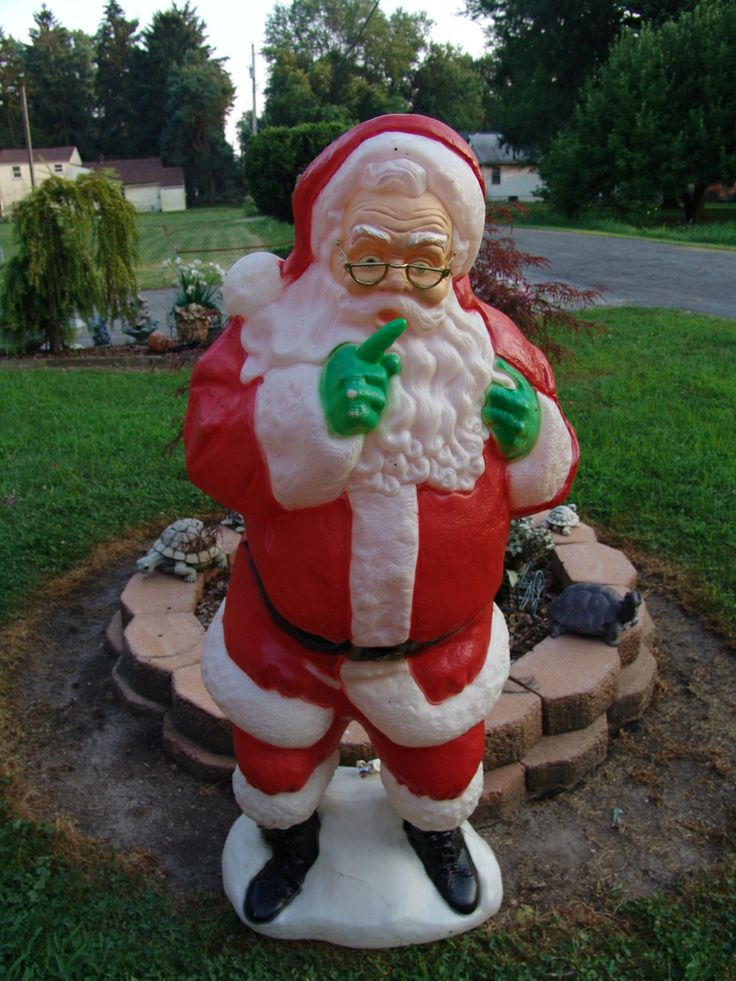 Blow Mold Outdoor Christmas Decorations