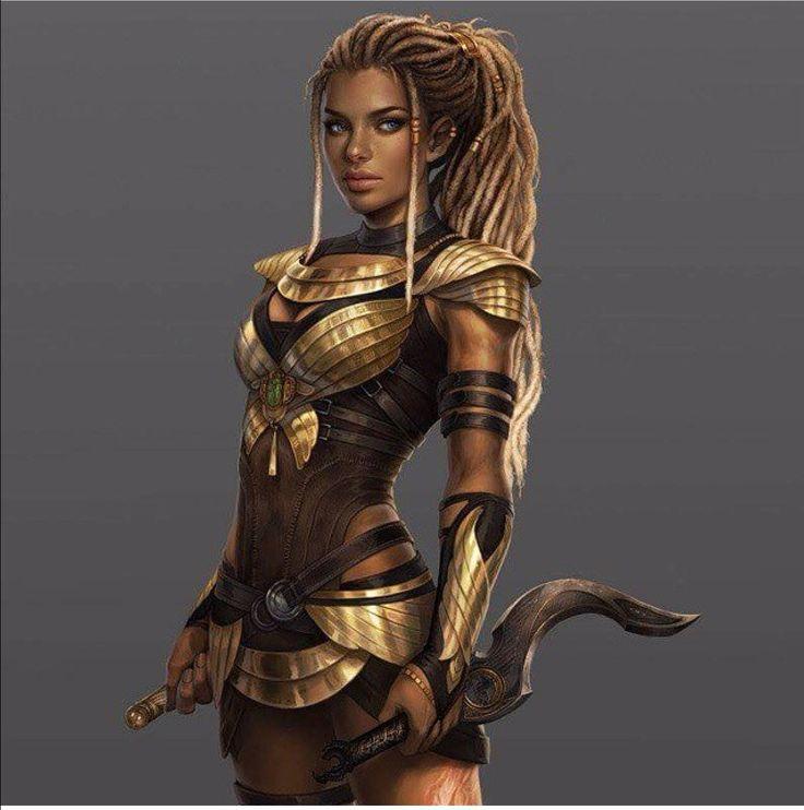 82 best black fantasy art images on pinterest black - Fantasy female warrior artwork ...