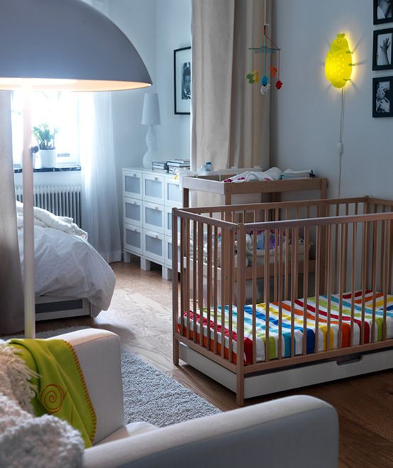 Nursery Furniture Sets Ikea #23: Modern Cot For Baby Room By IKEA