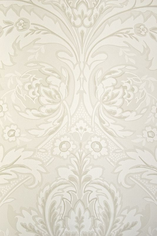 powder room coleridge damask wallpaper a really elegant. Black Bedroom Furniture Sets. Home Design Ideas