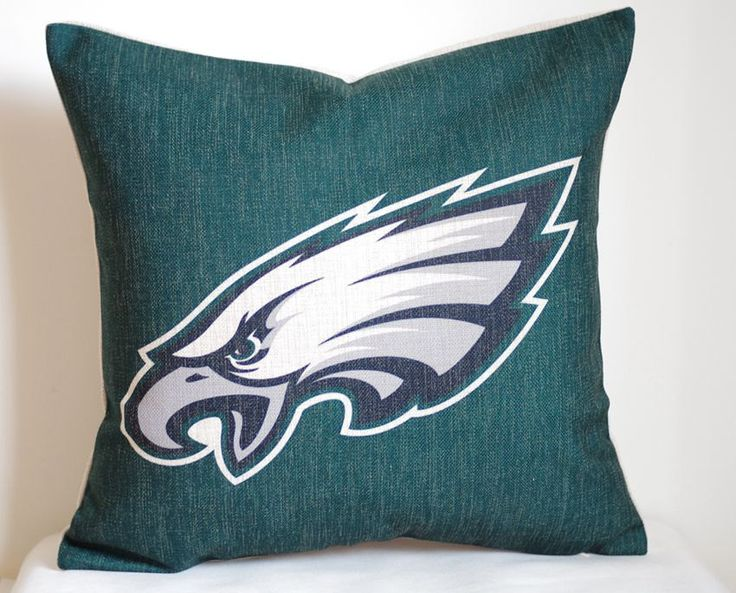 NFL Philadelphia Eagles pillow Philadelphia by DecorPillowStore