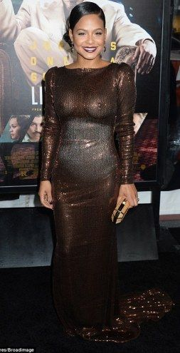christina milian steps out in seethrough dress without a