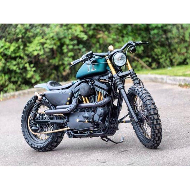 "HarleyDavidson Sportster ""The Great Escape"" Scrambler by Shaw Speed Custom, London"