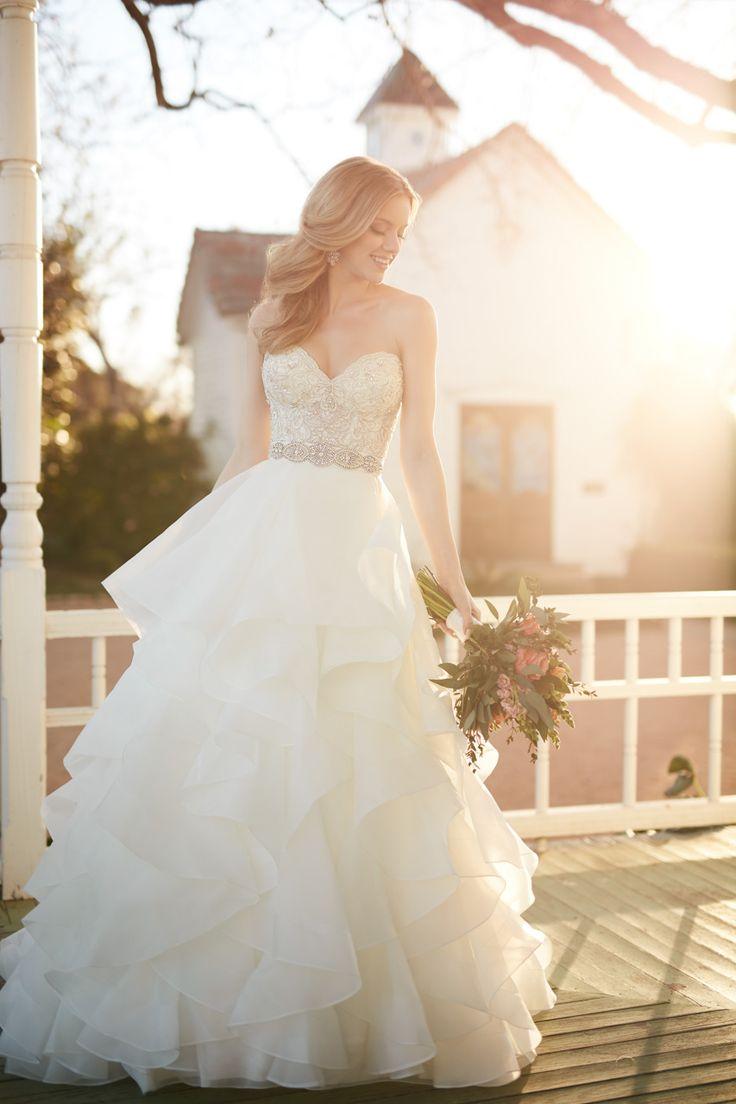 Wedding gown by Martina Liana, Style Cody-Skylar