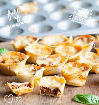 Little lasagne bites make a perfect dish for little hands. Full of yummy goodness your baby will love.Baby Led Feeding. Healthy Homemade Baby Food Recipes.