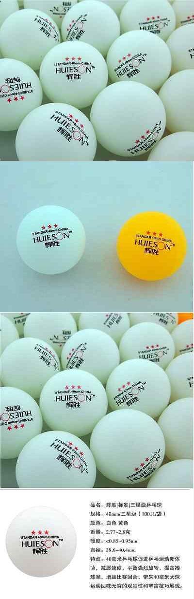 Balls 97073: 500Pcs Standar 3-Stars 40Mm Olympic Table Tennis Balls Pingpong Balls White+++@@ -> BUY IT NOW ONLY: $93.0 on eBay!