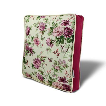 ACHICA | Gravel Floral Seat Pad, Purple