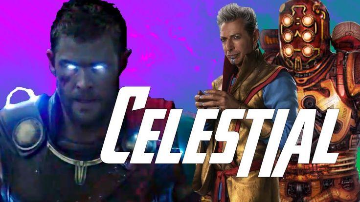 Rune King Thor of Infinity & Celestial Grandmaster in Thor Ragnarok (Revisited)
