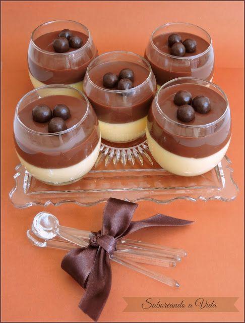 saboreando a vida: Mousse de Maracujá e Chocolate (de novo!) e o que rolou nos…