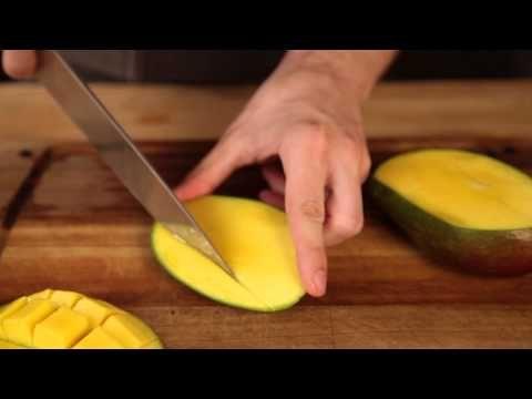A mangó konyhai előkészítése (hámozása) - YouTube