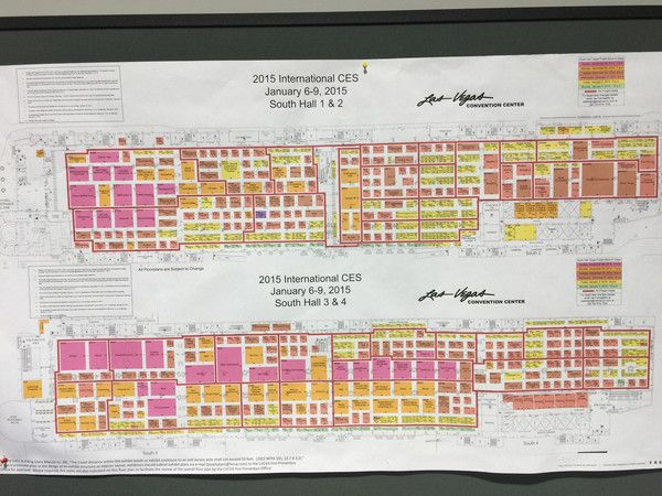 The CES map