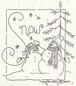 crabapple hill design. Would be cute with the new Snowman Gatherings from Moda as a scrappy border.