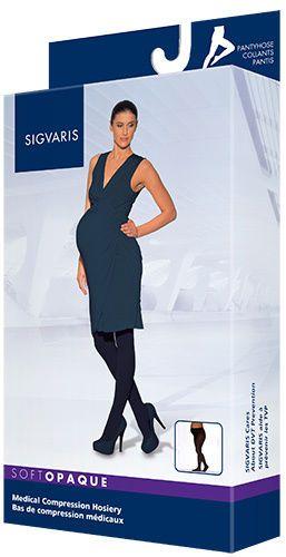SIGVARIS 841M Soft Opaque MATERNITY Compression Pantyhose - CT 15-20mmHg Size SL | eBay