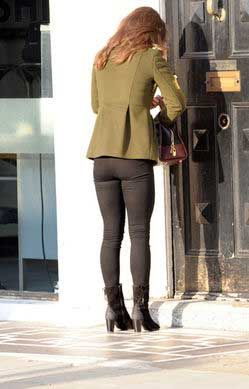 Leggings are not pants...and if they look this bad on Pippa Middleton, they can't look good on you.