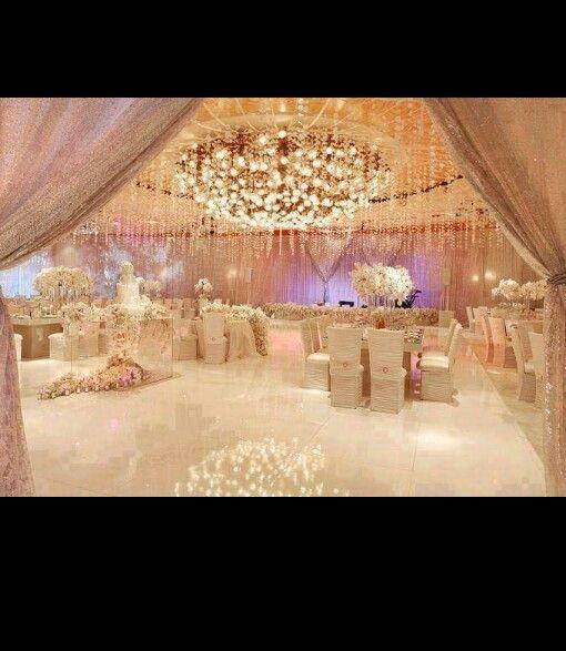 Upscale Wedding Decor, Wedding Reception