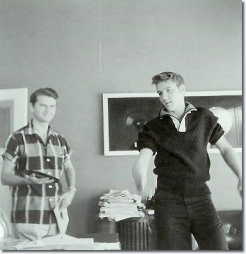 Sam Phillips and Elvis Presley : Sun Records : September 23, 1956.