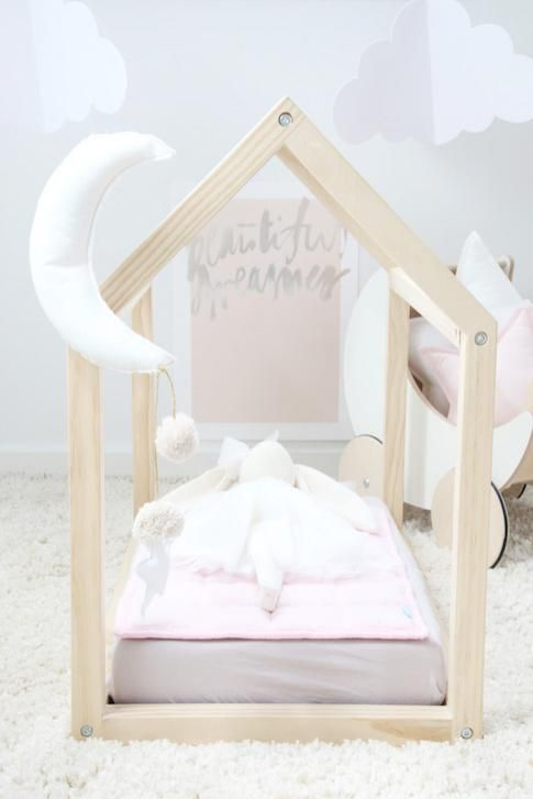 Toy bed - A stunning sleep space for those delightful toys » by Bella Buttercup - as seen on Baby Berry