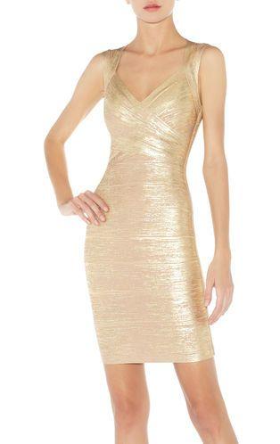 Знаменитости спагетти ремень платья повязки золота сексуальная женщина выпускного вечера ну вечеринку носят дамы недоуздок выдалбливают v шеи HL упругой E HL1157, принадлежащий категории Платья и относящийся к Одежда и аксессуары на сайте AliExpress.com | Alibaba Group