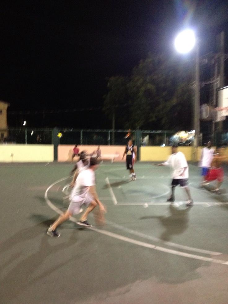 Antigua street basketball