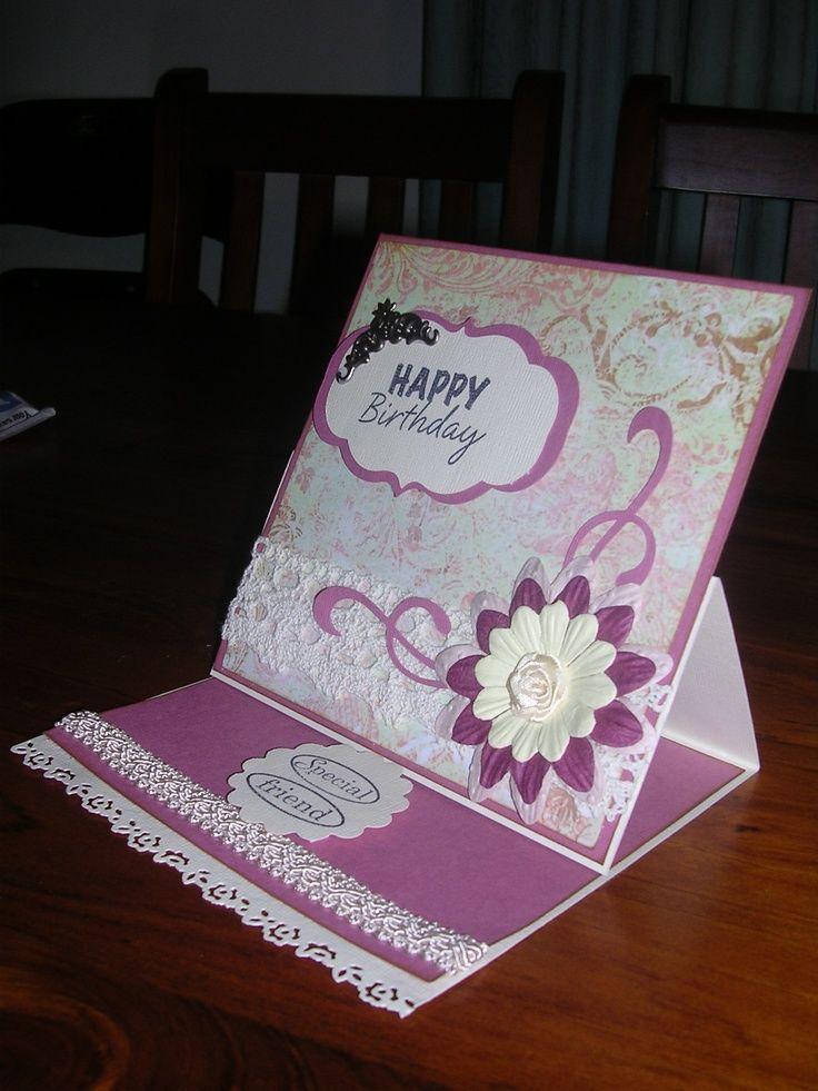 Cricut Birthday Cards For Women  Cricut Birthday Card -7817