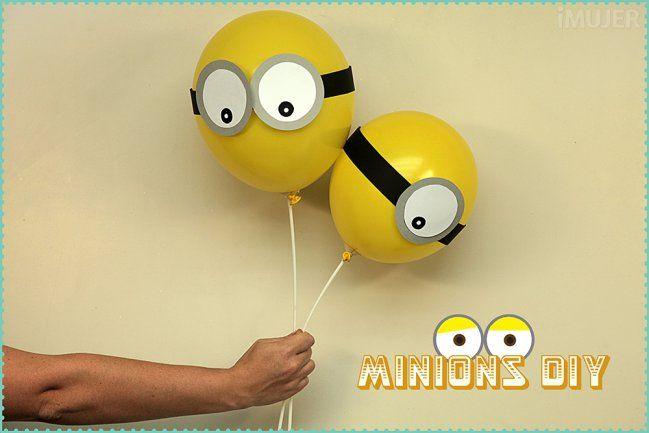 Globos de minions para fiestas infantiles - IMujer