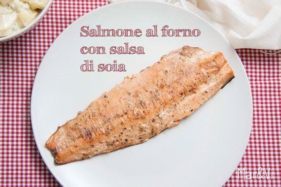 Mar&Vi Creative Studio - Italia: Oggi cucino io: Salmone con salsa di soia e zenzero