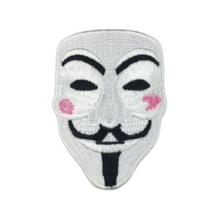 Now Available in store today Anonymous V For V... at a very low price here http://apatchestore.com/products/anonymous-v-for-vendetta-hacker-mask-iron-on-embroidered-patch?utm_campaign=social_autopilot&utm_source=pin&utm_medium=pin @ apatchestore.com