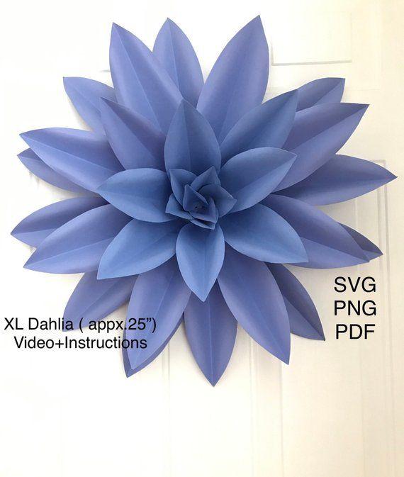 Pin On Paper Flowers Diy